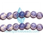Sodalite01 (natural), 12mm round, B grade,